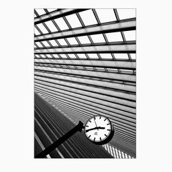 Stationsklok Luik