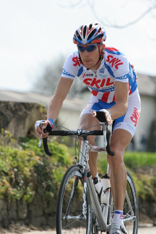 Kop groep Amstel Gold Race - Albert Timmer zat lang in een kopgroep in de 43e editie van de Amstel Gold Race