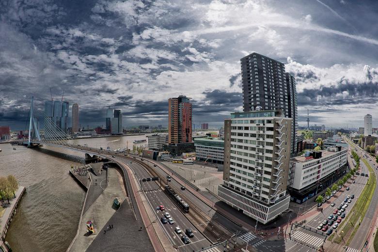 Rotterdam City view