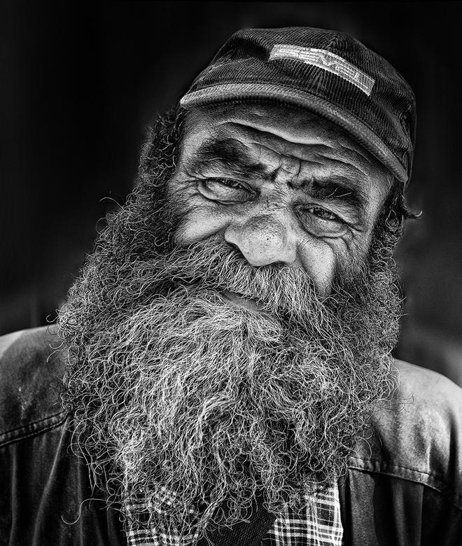 men from rome  - deze man poseerde wel even in rome