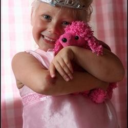 Blij prinsesje