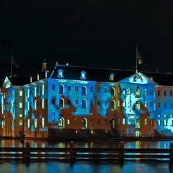 Amsterdam Light Show . .
