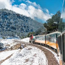 El Chepe trein Mexico