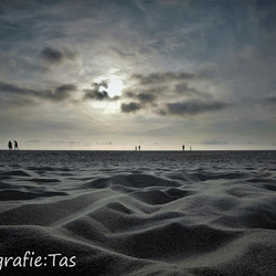 Het Texelse strand.