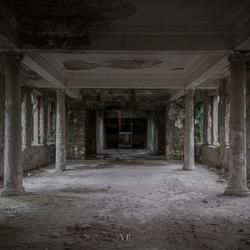 Verlaten Badhuis