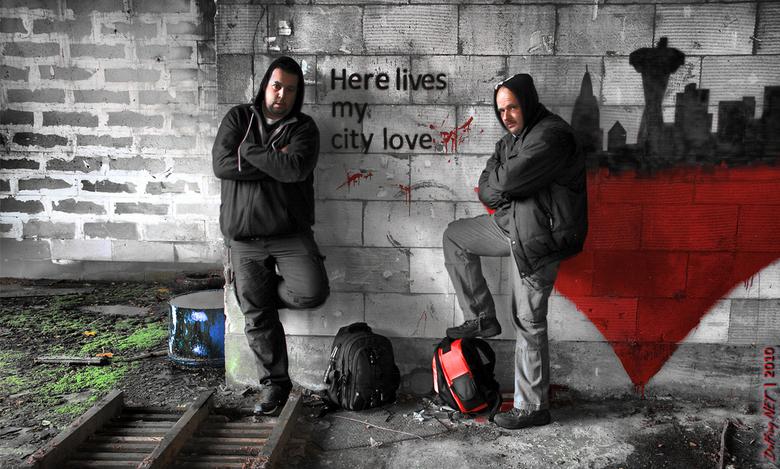 Urban City Love - Met (urban) crewmate Erik even dicht bij huis wezen urbexen... een locatie wat wij altijd al even wilden checken... en voor herbezoe