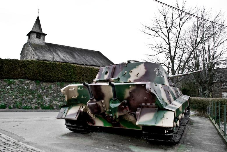 Tiger Tank La Gleize (Ardennen)