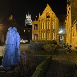 Brugge, after dark...