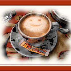 Opwekkend kopje koffie