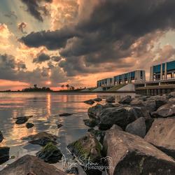 Mooie luchten boven het Lauwersmeer