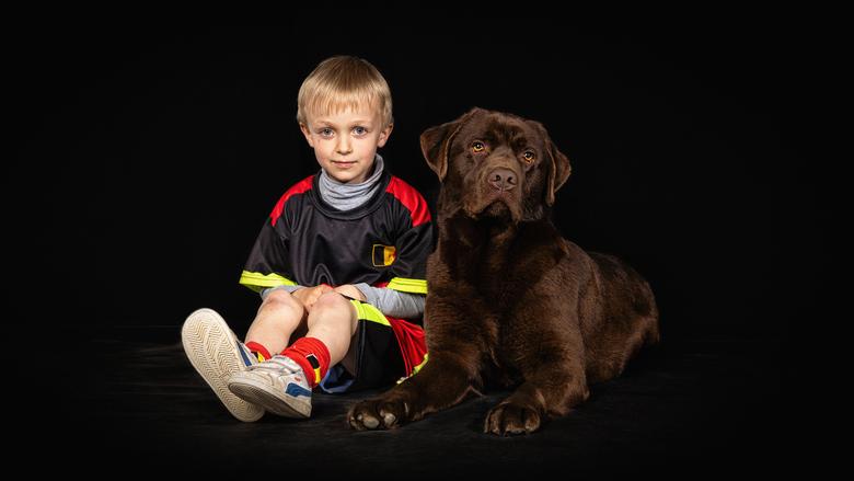 Oscar & friends - Altijd leuk om huisdieren in de studio te verwelkomen. Maakt het altijd net iets spannender en des te meer onberekenbaar. Maar h