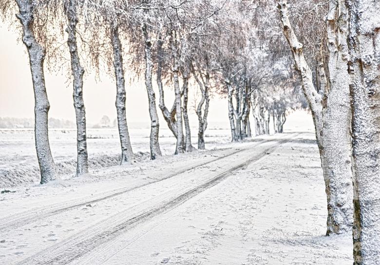 """winter weg... - ... gewoon een winter weg   <img  src=""""/images/smileys/wilt.png""""/><br /> <br /> Groetjes,<br /> Sandra"""