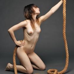 Met touw