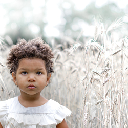 Magic little girl