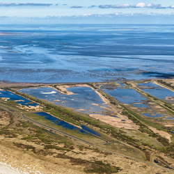 Kroon's Polders en 65km Waddenzee