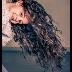 Glamour foto van mijn dochter