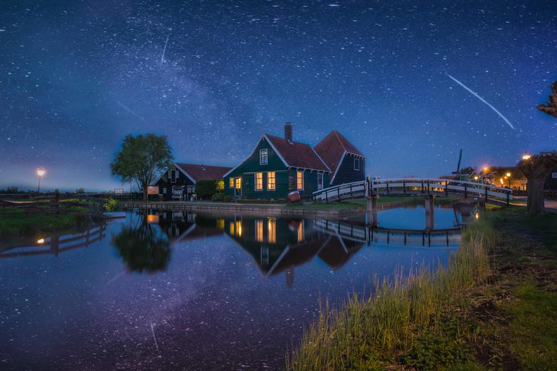 Zaanse schans - Nederlandwaterland