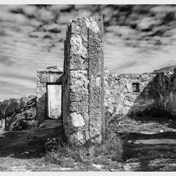 ruïne 1e W.O. in Dolomieten
