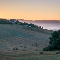 A morning in France