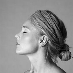 portret zwart-wit