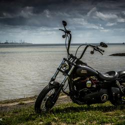 Harley in HDR