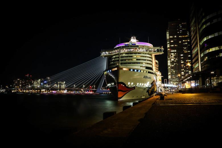 De lichtjes van Rotterdam