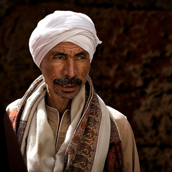 Portret Egyptenaar