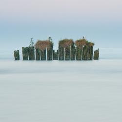 stilte bij het IJsselmeer.............