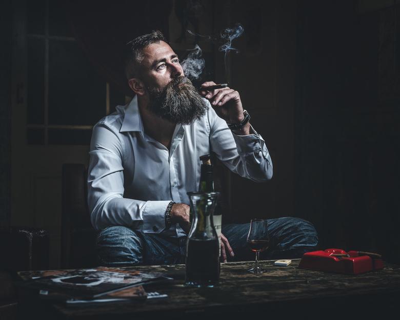 Cigar portrait  -