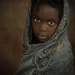 Meisje uit Nigeria