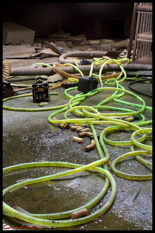 """Green hose - Moest een trapje oplopen die niet al te stevig was <img  src=""""/images/smileys/smile.png""""/>"""