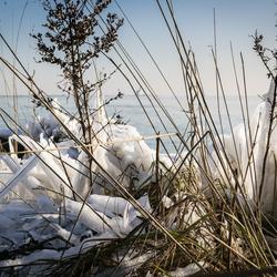 Arctisch landschap op Marken