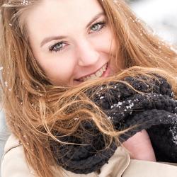 Anouk sneeuw foto 2