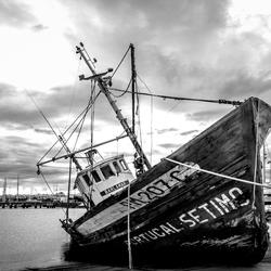 Verlaten boot