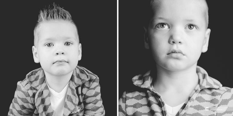 Twee broers in een beeld gevangen - Dit keer eens een uitstapje buiten mijn comfort zone met een portret shoot. <br /> <br /> Het zijn twee broertje