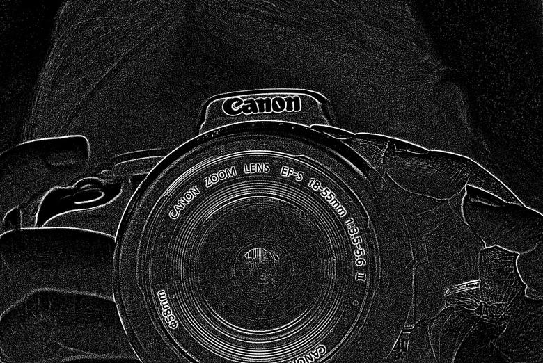 My friend's canon - Deze foto heeft een vriendin van mij gemaakt met mijn camera, terwijl ik een foto van haar maakte. Ik heb hem wel zelf bewerkt <im
