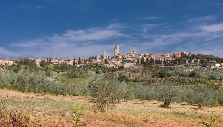 San Gimingano Italie
