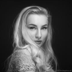 Megan - Black & White