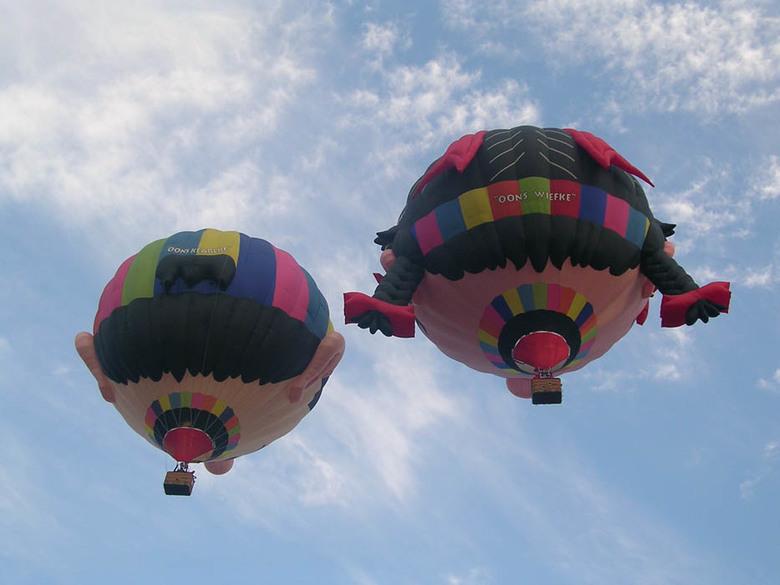 Tweeling - luchtballonfestival in breda