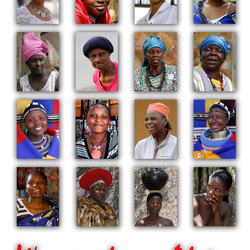 women from Africa