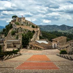 Kasteel Castell de Xàtiva, Spanje