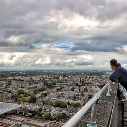 I'm on top of Rotterdam!
