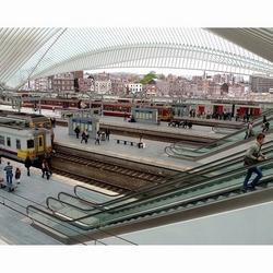Station Guillemins (Luik)