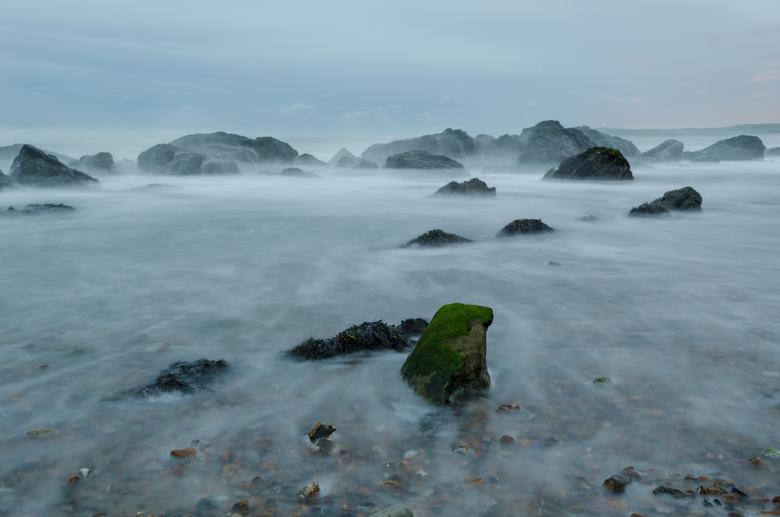 Mystieke wateren - Cap Gris Nez, Frankrijk. <br /> Als ik voor zaken reis gaat mijn camera en statief altijd mee. <br /> Na het werk snel in de auto