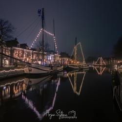 Admiraliteitstad Dokkum in kerstsfeer