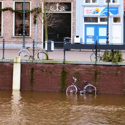 Hoog water in Breda