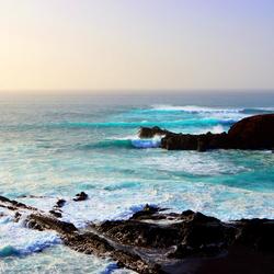 Blauwe oceaan