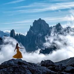 Dansend op de wolken