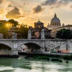 Sunset Rome - Sint-Pieter