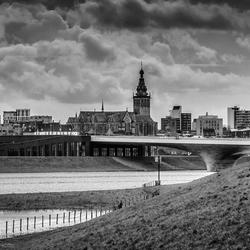 Zicht op Nijmegen
